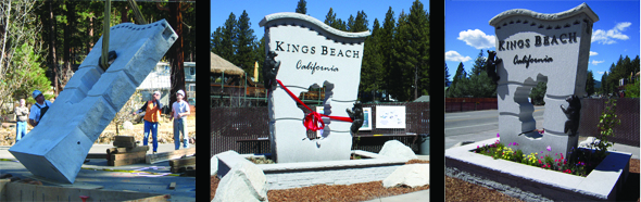 Image of Kings Beach Monument Sign